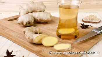 Agua de jengibre y miel para reducir el abdomen - Aire de Santa Fe