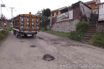 Vía Cuenca-Déleg-Azogues, empeora - El Mercurio (Ecuador)