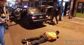 Santa Anita: Falsos taxistas-colectiveros asaltaban a mujeres con gas pimienta - Diario Perú21