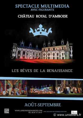 Spectacle Son & Lumière « Les rêves de la Renaissance » samedi 1 août 2020 - Unidivers