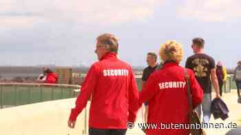 Unterwegs mit der Corona-Streife am Strand in Cuxhaven - buten un binnen