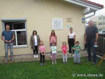 Dingolfing: BMW Strolche erhielten die Urkunde Haus der kleinen Forscher - idowa