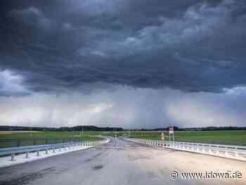Starkregen möglich : Unwetterwarnungen im Raum Ostbayern - idowa