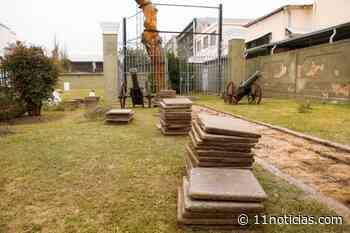 Obras para conservar el predio donde se encuentra el Pino Histórico en San Lorenzo - 11NOTICIAS