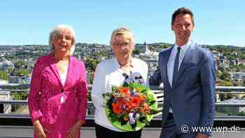 Kreuztal: Ricarda Wagner erhält Bundesverdienstkreuz - Westfalenpost