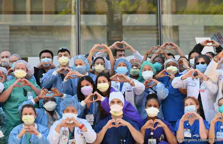 'We Don't Want To Die': Nurses Take To Social Media To Plead For Americans To Wear Masks