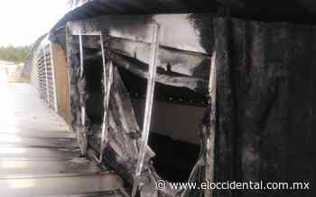Causa alarma incendio en mercado de Zapopan - El Occidental