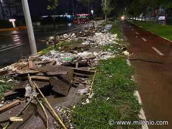 Así fue la inundación en Plaza del Sol, Guadalajara y 'Tlajo' por tormenta en Jalisco - Milenio