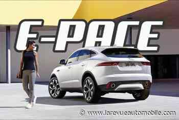 Jaguar E-Pace P300e : l'hybride rechargeable en préparation - La Revue Automobile