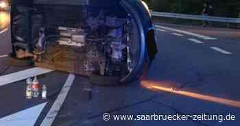 Verkehrsunfall bei Sulzbach mit sechs Leichtverletzten - Saarbrücker Zeitung