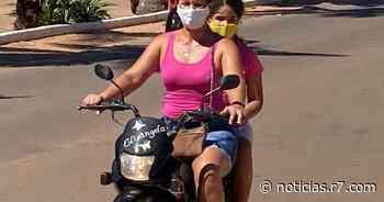 Em Rondon do Pará, motociclistas deixam capacete em casa - HORA 7