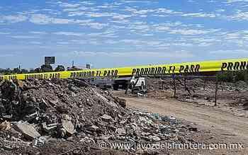 Localizan hombre muerto cerca de carretera San Felipe - La Voz de la Frontera