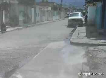 Comunidad en #Maracay vive entre aguas negras - El Pitazo