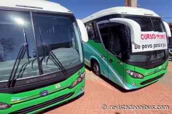 SP: Pilar do Sul adquire dois ônibus novos para a Saúde - REVISTA DO ÔNIBUS