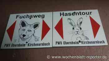 Pfälzerwald-Verein Obernheim-Kirchenarnbach: Markierung zweier Wanderwege - Wochenblatt-Reporter