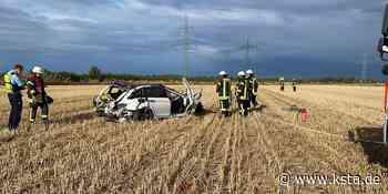 BMW überschlägt sich mehrfach: Zwei Schwerverletzte nach Unfall in Manheim-neu - Kölner Stadt-Anzeiger