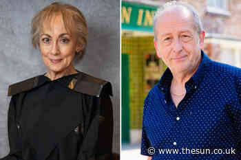 Paula Wilcox's arrival explained as Elaine exposes Geoff Metcalfe's abuse in court - The Sun