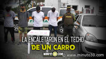 EN FOTOS: Agarraron en Carepa, Antioquia, a cuatro sujetos llevando varias bolsas llenas de 'tusi' (2CB) - Minuto30.com