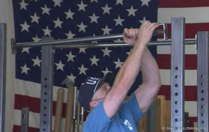 Shortage Of Fitness Equipment Leads SoCal Man To Create USA-Made Weights