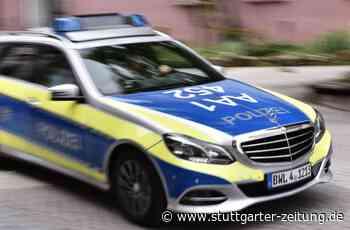 Polizeikontrolle in Holzgerlingen - Mann will Tütchen mit Rauschgift schlucken - Stuttgarter Zeitung