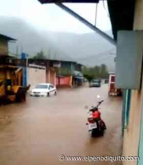 Lluvias provocaron anegaciones en Ocumare de la Costa - El Periodiquito
