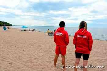 Réouverture de la plage Vauvert-sur-le-lac-Saint-Jean - Le Quotidien - Groupe Capitales Médias