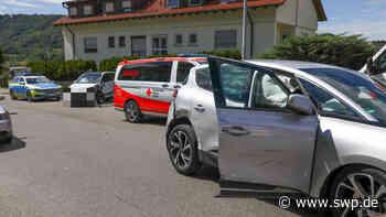 Hubschrauber über Geislingen: Schwerer Unfall auf der Wiesensteiger Straße - SWP