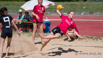 Beachhandball: Jugendbeachhandball-Turnier der TG Geislingen - SWP