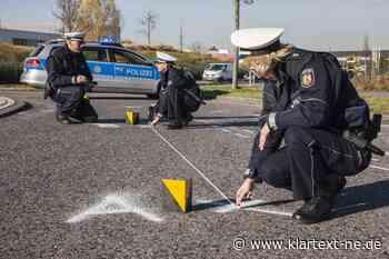 Grevenbroich: Polizei sucht blaues Motorrad nach Verkehrsunfallflucht   Rhein-Kreis Nachrichten - Klartext-NE.de