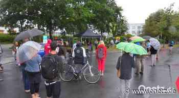70 Demonstranten treten in Weiden für Pressefreiheit ein - Onetz.de