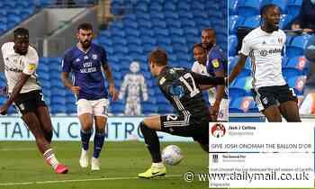 Fans left in disbelief at Fulham star Josh Onomah's wonder goal