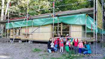 Waldkinder aus Iphofen besuchten ihr neues Waldhaus - Main-Post