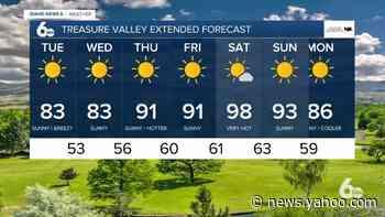 Scott Dorval's Idaho News 6 Forecast - Monday 7/6/20 - Yahoo News
