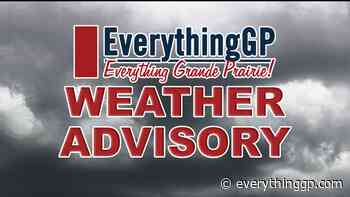 Severe Thunderstorm Watch issued for Peace River area - EverythingGP