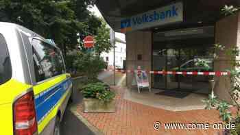 Bombendrohungen gegen Volksbank in Werdohl: Polizei hat neue Erkenntnisse - come-on.de