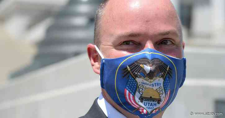 Spencer Cox won't say whether he supports a mask mandate
