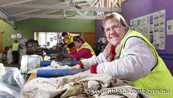 Pandemic dries up supply of old clothes to Wynyard rag firm - The Advocate