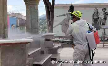 Ahora se blindan en la Mixteca ante aumento de Covid-19; Tlaxiaco exhorta a aislamiento - El Universal Oaxaca