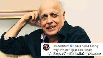 Sushant Singh Rajput's death case: After recording statement, Mahesh Bhatt shares cryptic post, writes, 'I have come a long way. Where?..'