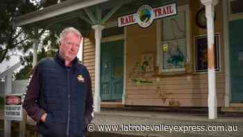 Vandals hit historic Glengarry Railway Station - Latrobe Valley Express