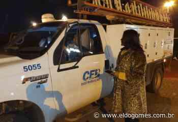 Governador Ibaneis Rocha leva mais iluminação para o Areal DF - Eldo Gomes