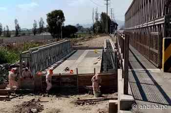 Ministerio de Transportes reemplazará las estructuras del puente Coishco - Agencia Andina