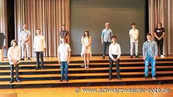 Triberg: Ein besonderes Schuljahr gemeistert - Triberg - Schwarzwälder Bote