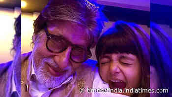 Blast from the past! When Amitabh Bachchan turned goofy with granddaughter Aaradhya Bachchan