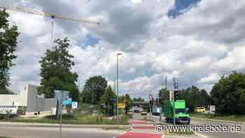 Kaufering: Die Planungen für einen Kreisverkehr in Kaufering verdichten sich. - Kreisbote