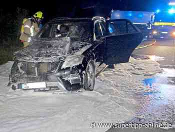 Nahe A52 in Ratingen-West: Mercedes-SUV fängt Feuer - Ratingen - Supertipp Online