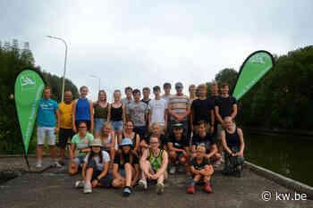 Ieperse roeivereniging is gastheer voor Antwerpse kajakclub