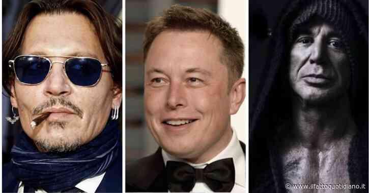 """Mickey Rourke contro Elon Musk: """"Sfidi Johnny Depp? Ho un'idea migliore, prova a picchiare me. Scommettiamo 200mila dollari a testa"""""""