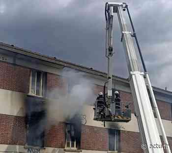 Creil : incendie de détritus dans un bâtiment désaffecté - actu.fr