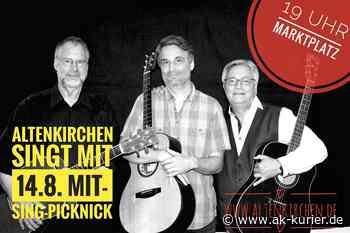 Mit-Sing-Picknick auf dem Marktplatz in Altenkirchen - AK-Kurier - Internetzeitung für den Kreis Altenkirchen
